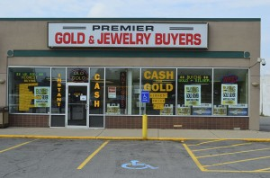Gold buyer store front in Buffalo